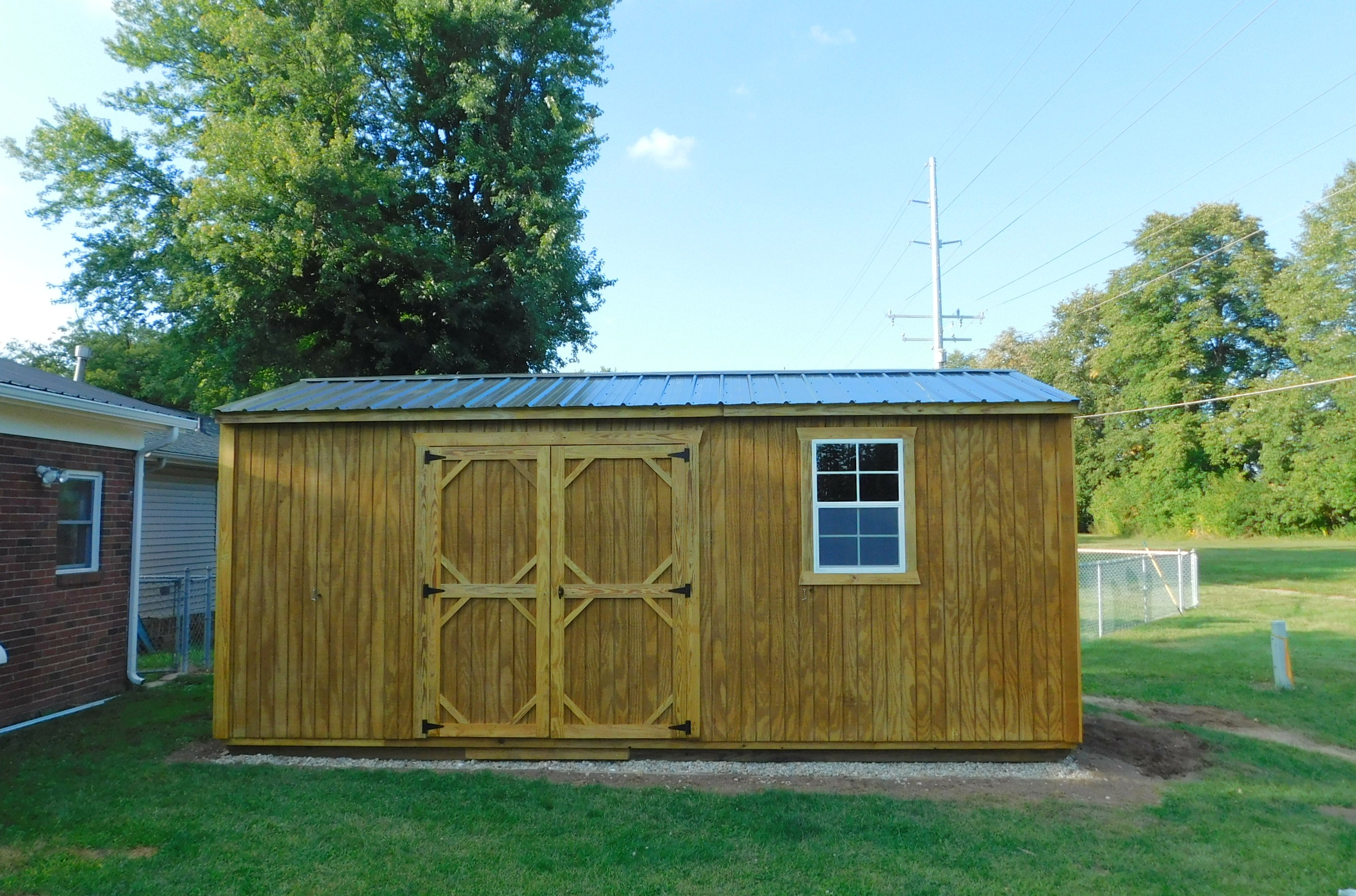 Garden Shed Locally Built Serviced Storage Sheds